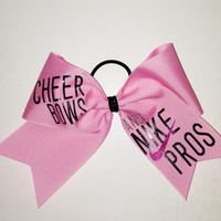 Nike Pros Cheer Bow