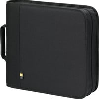 Case Logic 208-Disc Nylon CD / DVD Binder (Black)