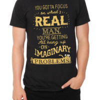 Adventure Time Focus On Real T-Shirt