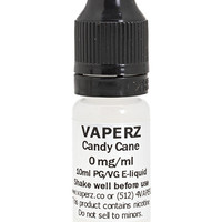 Candy Cane Flavor Vaperz E-Liquid 10ml Bottle at Hookah Company
