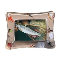 River's Edge PhotoFrame - 4X6 Transparent Fly Fishing Lures