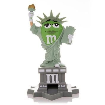 M&M's World Statue of Liberty Candy Dispenser New