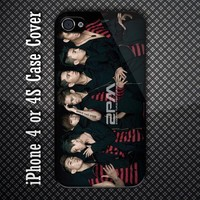 2PM Time For Change K-Pop Custom iPhone 4 or iPhone 4S Case
