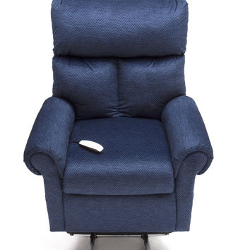 Pride Mobility Power Lift Chair LC-450 3-Position, Full Recline - Pacific Blue Fabric