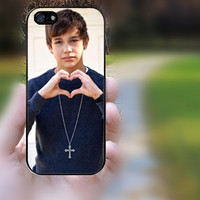 iphone 5c case,iphone 5 case,iphone 5s case,iphone 5s cases,iphone 5 cases,iphone 5c case,cute iphone 5s case--austin mahone love,in plastic
