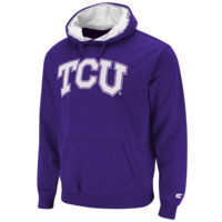 TCU Horned Frogs Automatic Pullover Hoodie Sweatshirt - Purple