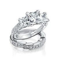 Bling Jewelry Bridal Bliss Rings