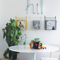 Down To The Woods | Wire Wall Hung Magazine Holder