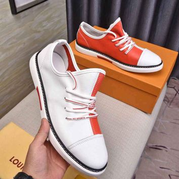 LV Louis Vuitton Women Men  New Fashion Casual Shoes Sneaker Sport   Running Shoes