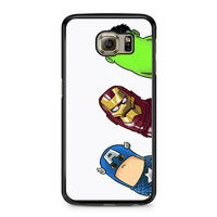 Crooked Neck Avengers Samsung Galaxy S6 case