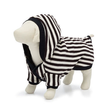 Iconic Striped Pet Reversible Hoodie