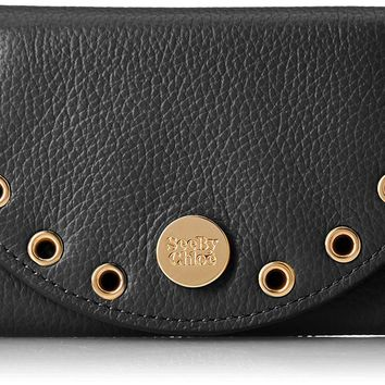 See by Chloe Women's Flap Compact Wallet