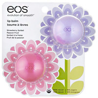EOS Strawberry & Passion Fruit SPRING Lip Balm Duo