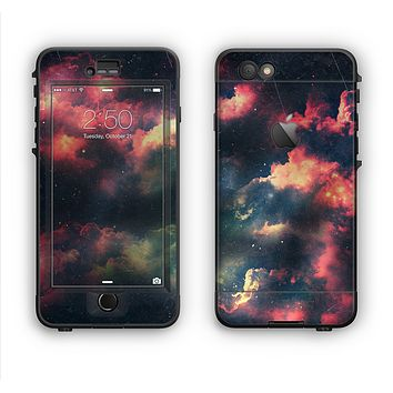 The Vintage Stormy Sky Apple iPhone 6 LifeProof Nuud Case Skin Set