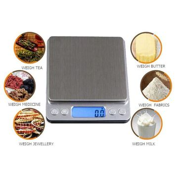 DCCK1IN new arrival 1000g x 0 1g digital pocket scale jewelry weight electronic balance scale mini home kitchen scales