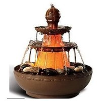 Homedics WFL-NPLI EnviraScape Old Napoli Illuminated Relaxation Fountain