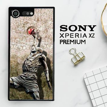 Michael Jordan Slam Dunk Carbonite V0979 Sony Xperia XZ Premium Case