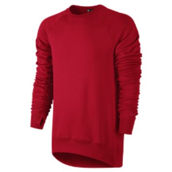 Nike SB Everett Crew Fleece Men's Sweatshirt - Gym Red