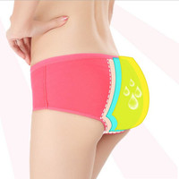 Women Menstrual Sanitary Period Panties Leak Proof Lingerie Breathable Seamless Underwear Women Cotton Girl Briefs Calcinha