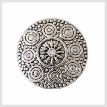 Antique Metal Circles 20 mm 3/4""