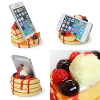 Strapya World : Delicious Food Stand for Smartphone (Berry Pancakes)