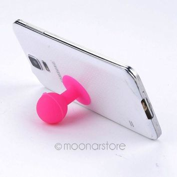 DCCKL72 New Silicone Cute Suction Sucker Cup Holder Stand For Universal Phone ,Phone Acessories XMPJ487#S3