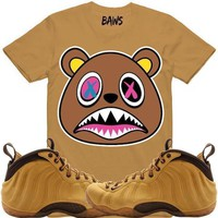 CRAZY BAWS Wheat Shirt - Wheat Foamposites