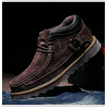 Genuine Leather Casual Shoe