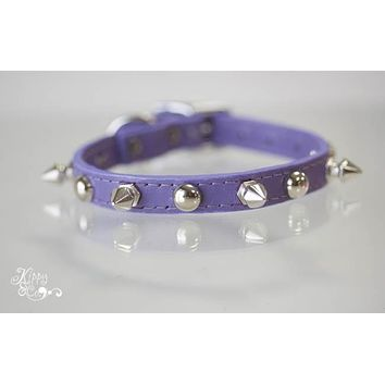 Tiny Spike Collar With Studs