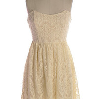 NEW: My Favourite Things Dress in Cream - $54.95 : Indie, Retro, Party, Vintage, Plus Size, Convertible, Cocktail Dresses in Canada