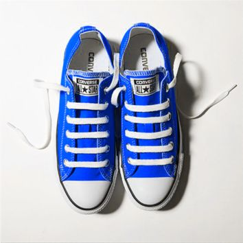 Converse All Star Sneakers for Unisex sports leisure comfort shoes Sapphire Blue