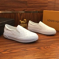 Louis Vuitton Lv Slip On White - Best Online Sale