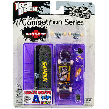 Tech Deck Competition Series [Hookups - Purple Case]