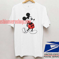 Classic Mickey Mouse T shirt Unisex adult mens t shirt and women t shrt