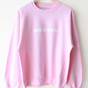 Unicorn Oversized Sweater