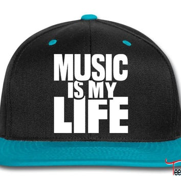 Music is my life Snapback