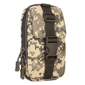 Sports gym bag Outdoor  Unisex Tactical Vice Package Wear Belt Purse 5.5 inch 6 inch Mobile Phone Package EDC Tool Bag Messenger Bag KO_5_1