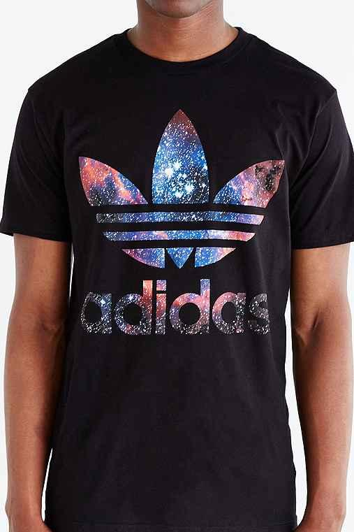 adidas original trefoil t shirt purple