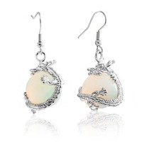Bling Jewelry Viserion Earrings