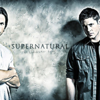 Supernatural - Sam & Dean Winchester Art Print by ElvisTR