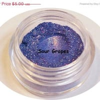 50% OFF SALE Mineral Makeup Eyeshadow Sour Grapes Shadow 1 gram