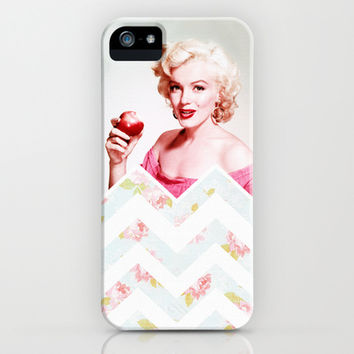 AN APPLE FOR MARILYN iPhone & iPod Case by Ylenia Pizzetti