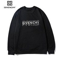 Givenchy sells simple monogrammed hoodies, casual hoodies and casual hoodies Black