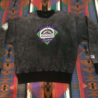 RARE 1992 Colorado Rockies Collectors Series Sweatshirt