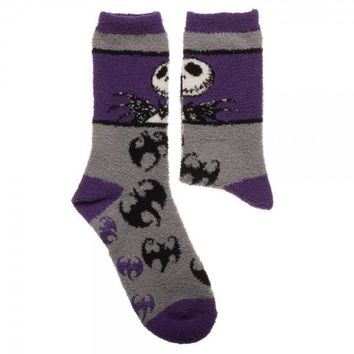 Nightmare Before Christmas Fuzzy Socks