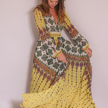 Ark & Co. Yellow Maxi Dress