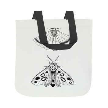 Eastern Moths Tote Bag