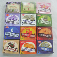 Hem Best Seller #2 Variety Pack Incense Cones, Mixed Lot 12 x 10 Cone, 120 Total