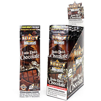 Juicy Wraps - Double Dutch Chocolate (Box of 50)
