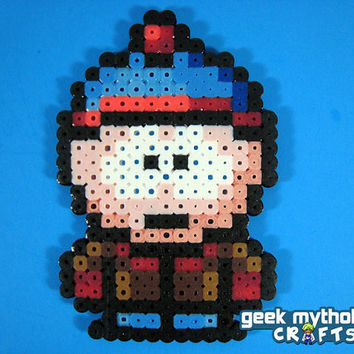 SOUTH PARK Stan Marsh Perler Bead Sprite by GeekMythologyCrafts